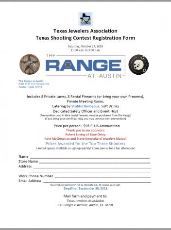 Texas Shootout Form